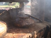 Traditional boiler for areca nut